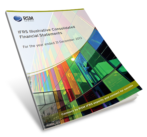 res publication IFRS